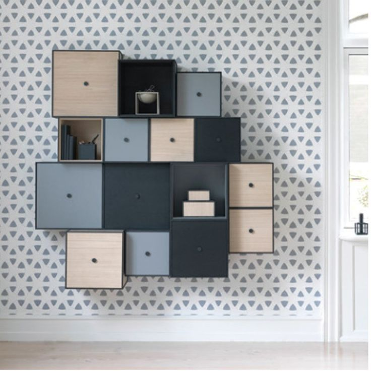 Frame by Lassen spotted@llwdesign #shelves, #wall storage, #display