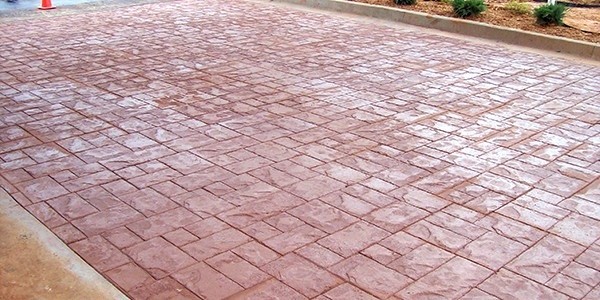 How To Pouring Colored Concrete Slabs Projects