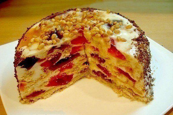 5 вкуснейших тортиков без выпечки - Простые рецепты Овкусе.ру