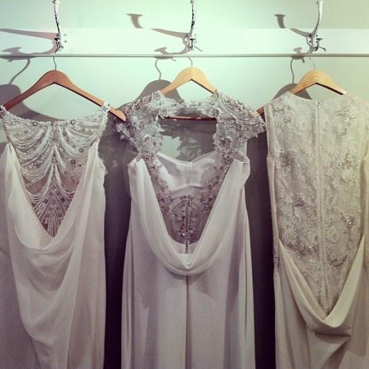 Rivini backs Fall 2013 - the white dress-on..