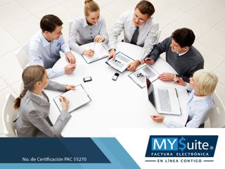 COMPROBANTE FISCAL DIGITAL. En MYSuite contamos con el servicio de portal para proveedores en donde estos, podrán subir cualquier comprobante que le hayan generado, incorporando la información adicional que requiera. Además, nuestra aplicación está respaldada por las características de seguridad y alta disponibilidad de la plataforma MYSuite, lo cual disminuye el riesgo de interrupción de procesos y el control efectivo de sus facturas, mediante reportes de gestión. http://www.mysuitemex.com…