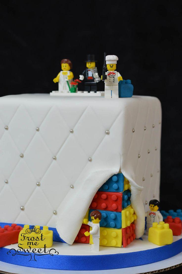 9 best wedding cakes! images on Pinterest | Lego wedding cakes, Cake ...