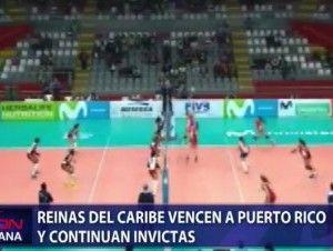 RD vence a Puerto Rico y avanzan a final de Copa Panamericana de Voleibol