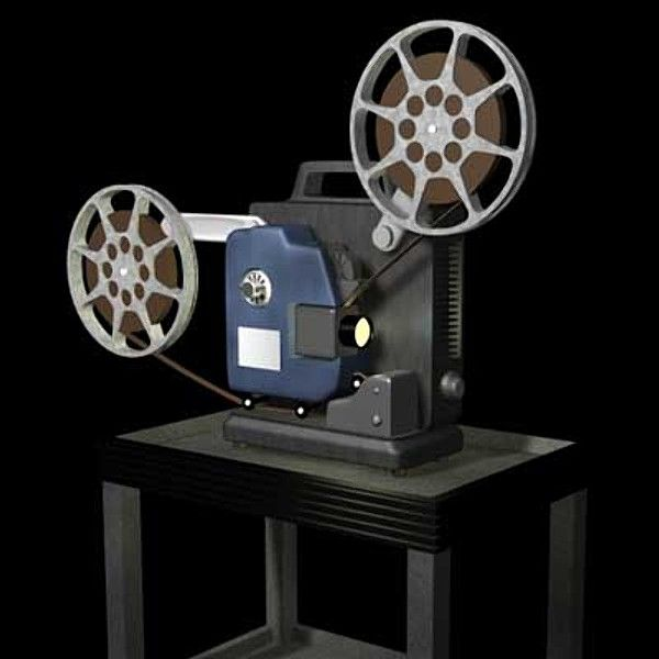 Picture of old fashioned movie projector 2