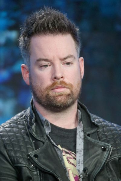 """David Cook Photos - S7 Winner David Cook speaks onstage during the """"American Idol"""" panel discussion at the FOX portion of the 2015 Winter TCA Tour at…"""