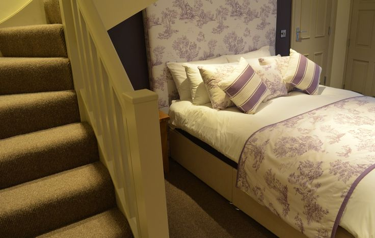 Bespoke curtains, blinds, soft furnishings for The Woodman Inn, Thunder Bridge, Yorkshire - by Ashley Interiors