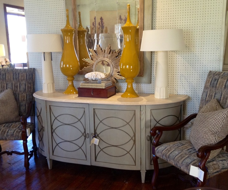 Baton Rouge,LA. See More. Awesome Decor On This Demi Lune Console Table.  Design By Dixon Smith Interiors.