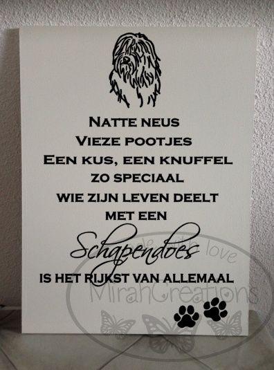 Leuke tekstborden met diverse hondenrassen!