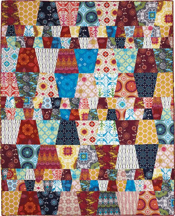 Not So Crazy Quilt Pattern                                                                                                                                                                                 More