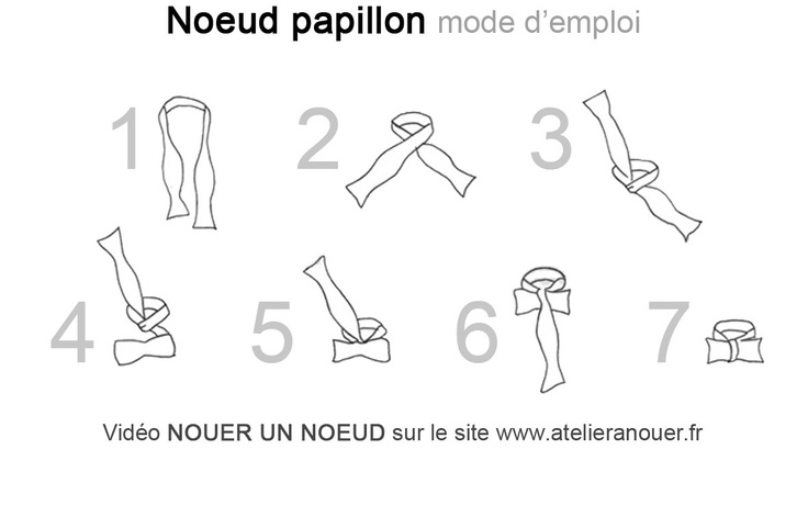 37 best images about how to essentials on pinterest - Nouer un noeud papillon ...
