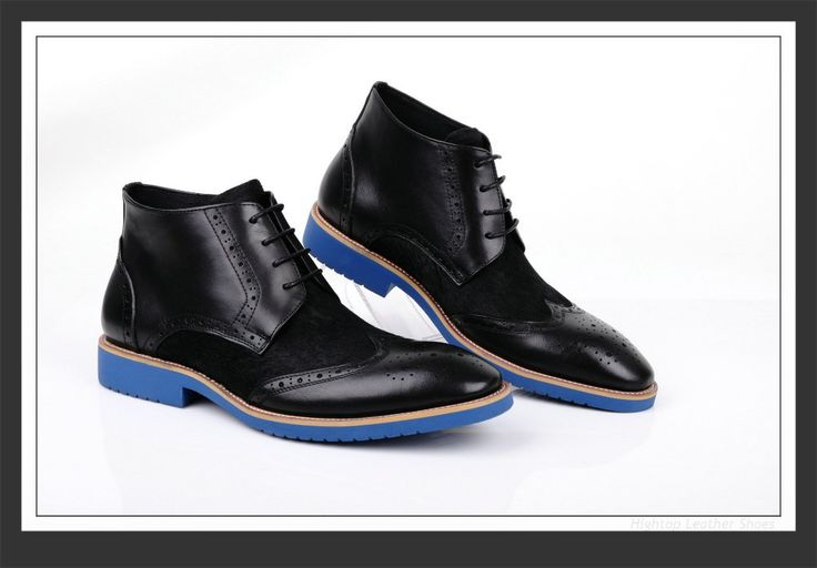 Free shipping new 2014 hightop fashion men's ankle boots men leather boots round toe boots formal business boots size38-45 $468.75