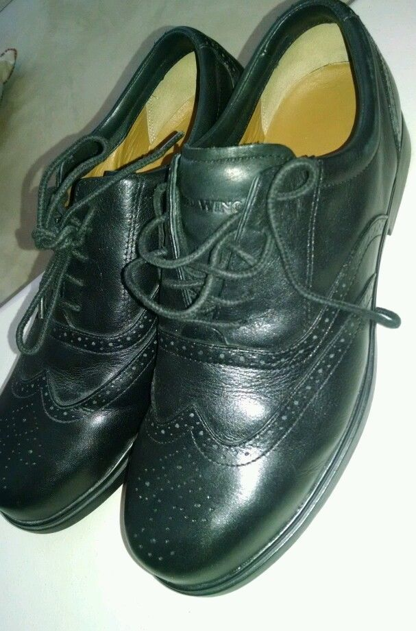 Red Wing Men's Black Wingtip Oxford Size 10 D  Steel Toe Safety Shoes #RedWing #WorkSafety
