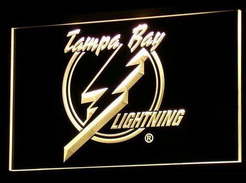 Tampa Bay Lightning Neon Light
