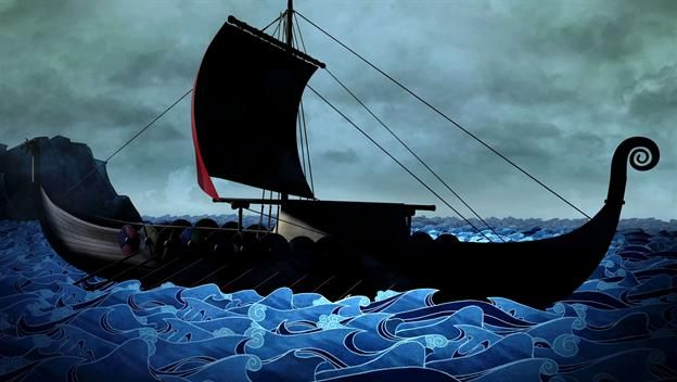 Ch 14: - Vikings - 4:00 Life at Sea Video - Vikings - HISTORY.com