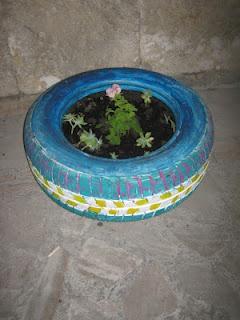 garden tire