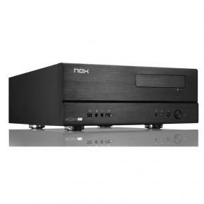 HTPC con caja NOX, placa base ASROCK H77m INTEL1155, DDR3,Usb 3.0, disco duro WD 2 Tb Caviar Green y 4 Gb de RAM