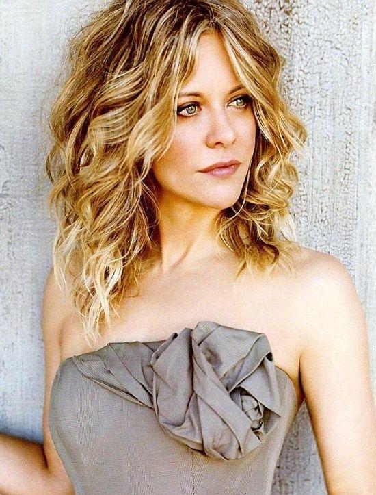 I've always liked Meg Ryan's hair.