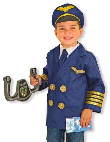 Costume de Pilote de ligne (Melissa & Doug)