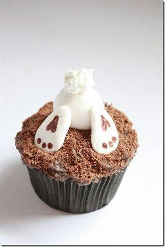 Lovely #Easter idea #cupcake www.kidsdinge.com