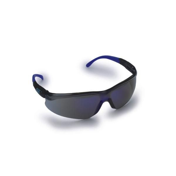 OX Safety Glasses - Blue Mirrored Lens