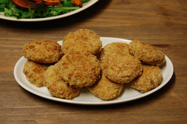 Risotto-koekjes met tamme kastanje