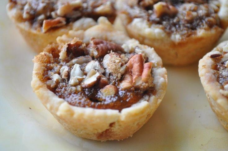 Pumpkin Pecan Tassies | Yum!!! | Pinterest