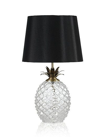 Puerto Table Lamp | M&S  Love everything pineapple