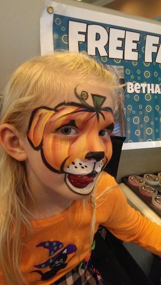Bethany McLean Simon || Halloween pumpkin puppy