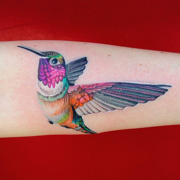 photo 3.JPG Tattoos, Colorful hummingbird tattoo