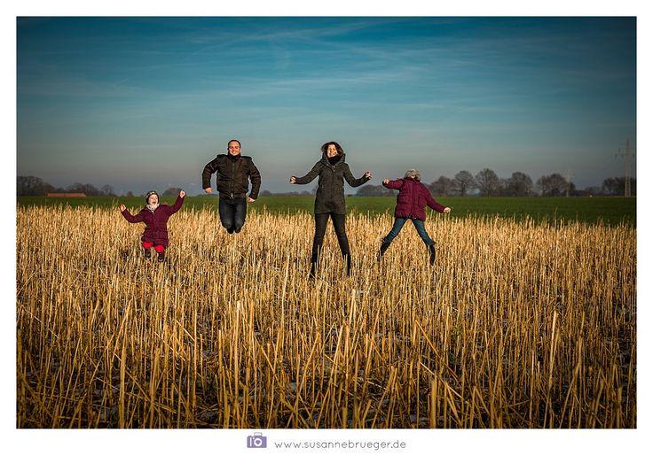 Familienshootings machen auch im Winter Spaß!   Foto:www.susannebrueger.de