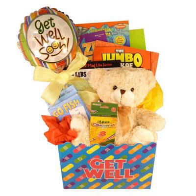 Get Well Gift For Kids - Kids Gift Basket