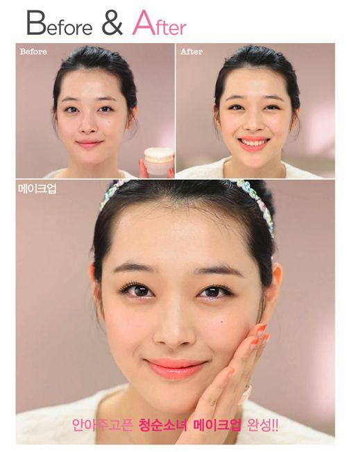 Yun Shock Blog: Korean Makeup Class: Etude House Innocent Girl