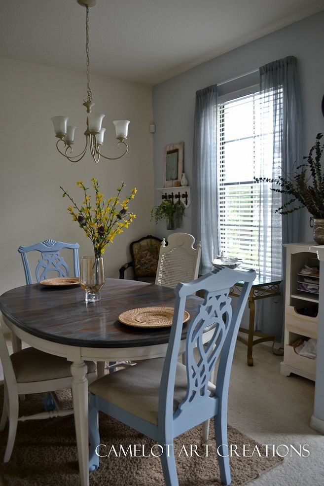 diy from dumpster to beautifully refinished rustic dining room set love the