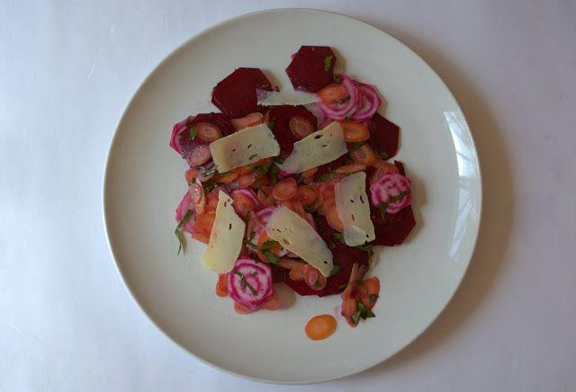 Crunchy Beet & Carrot Salad #salad #healthy #growyourown #yegfood