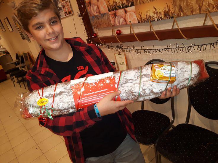 meter kerstbrood...leuk als relatiegeschenk!