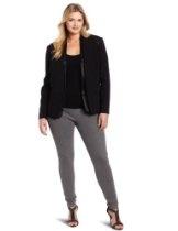 Jones New York Women's Plus-Size Tuxedo Jacket