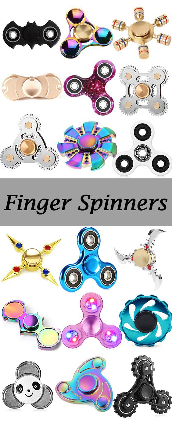 Colorful Finger Spinner Relieving Stress Toy