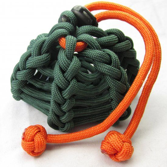 A paracord pouch/coozie tutorial.