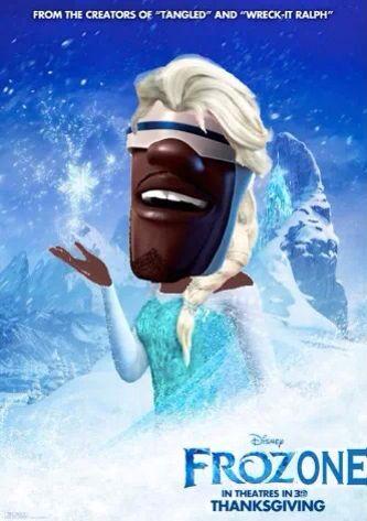 Frozen / Frozone - Incredibles & Frozen! Funny meme