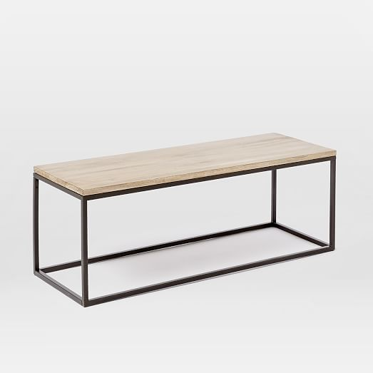 Box Frame Coffee Table - Wood | west elm