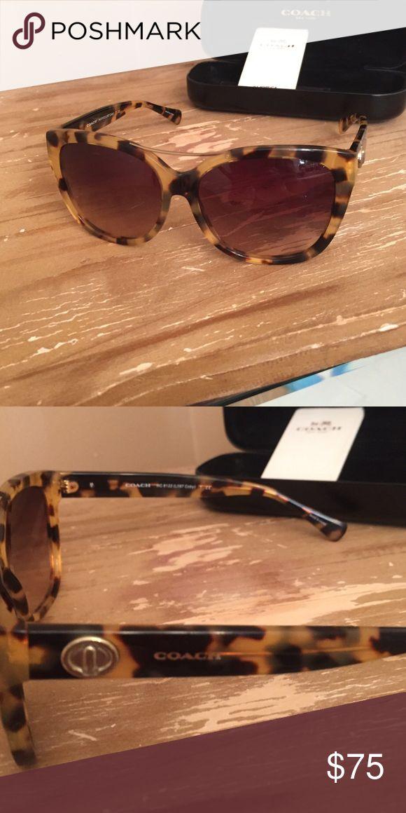 Coach Sunglasses Brand New Coach Sunglasses. Tortoise color.. Coach Accessories Sunglasses
