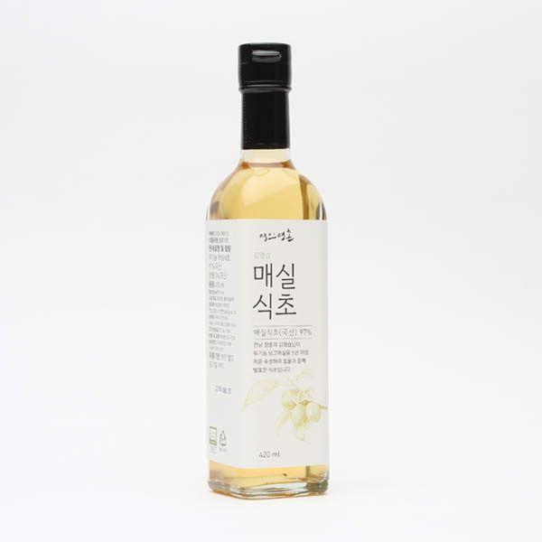 명인명촌 장흥 김영습 매실식초 420ml - 더현대닷컴