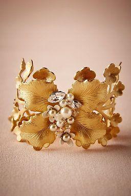 Arboreta Bracelet by BHLDN   ||  Perfect Wedding or Bridesmaid Bracelet ||  Follow @KWHBridal