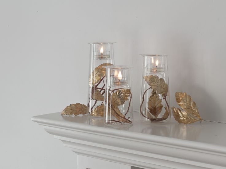Symmetry trio from partylite 39 s modern embrace for Trio miroir partylite