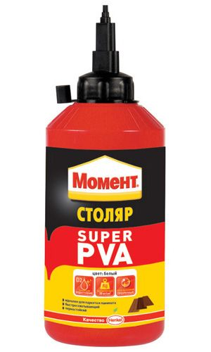 Момент Столяр Супер ПВА - Клей для дерева - Для профессионалов - Каталог продукции - Клей Момент (Moment)