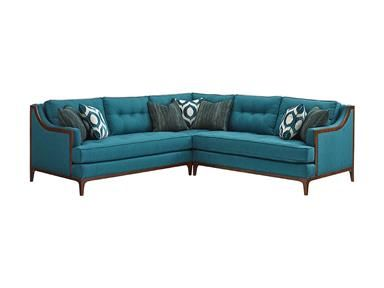 Loose Back Sectional.