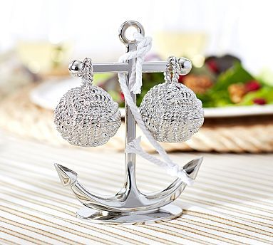 Anchor with Knot Salt & Pepper Set #potterybarn