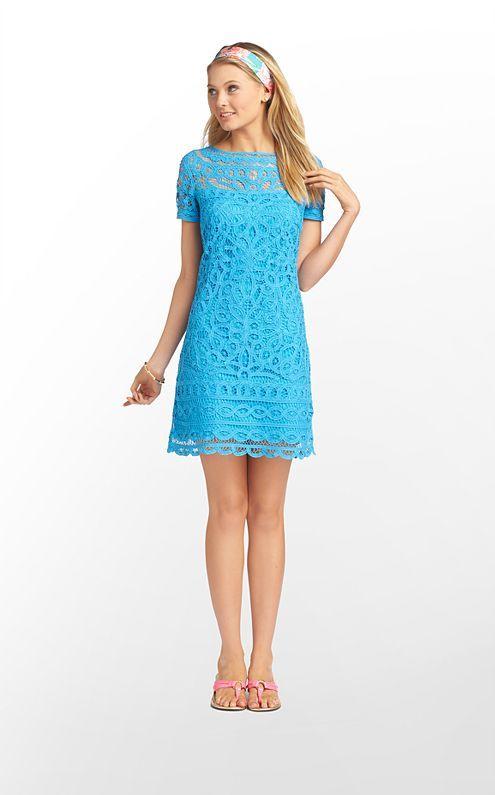 MarieKate Dress in Flutter Blue Go to Batt $378 (w/o 3/2/13) #lillypulitzer #fashion #style
