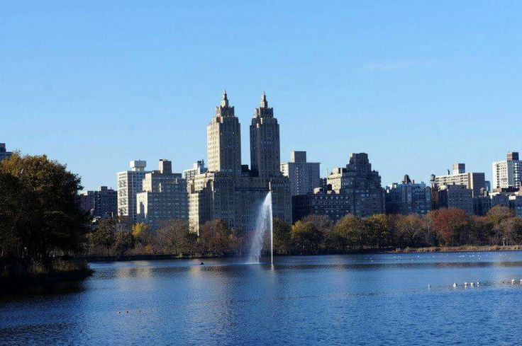New York, seen from Central Park