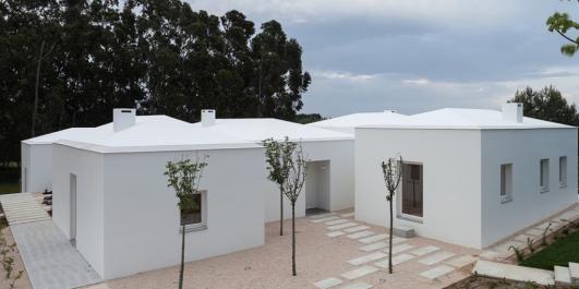 UNIK BOLIG: Huset i Portugal er bygget som en landsby.